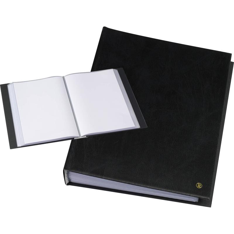 """schwarz 40 Hüllen rillstab Sichtbuch /""""Original/"""" DIN A4"""