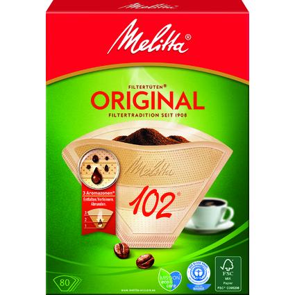 """Melitta Aroma-Filtertüten """"102"""", naturbraun"""
