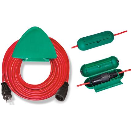 brennenstuhl Verlängerungskabel, Kunststoff, rot, 40 m