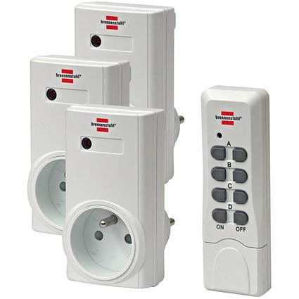 brennenstuhl Funkschalt-Set RCS 1000 N Comfort, weiß