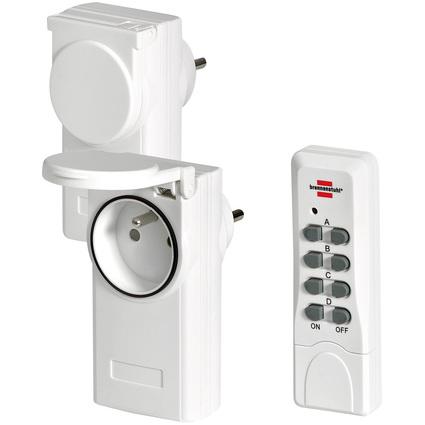 brennenstuhl Funkschalt-Set RCS 1044 N Comfort, weiß