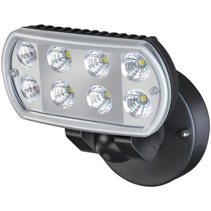 brennenstuhl LED Strahler L801, IP55, Wandmontage, schwarz