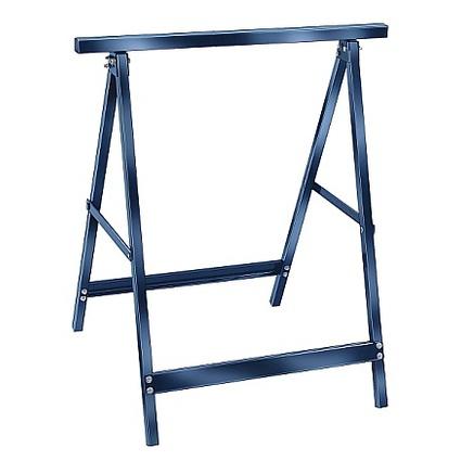 brennenstuhl Arbeitsbock MB 110, aus Stahl, blau