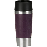 emsa isolierbecher TRAVEL MUG, 0,36 L., manschette brombeer