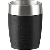 emsa isolierbecher TRAVEL CUP, 0,20 L., manschette schwarz