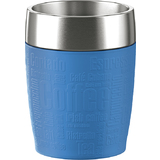 emsa isolierbecher TRAVEL CUP, 0,20 L., manschette blau