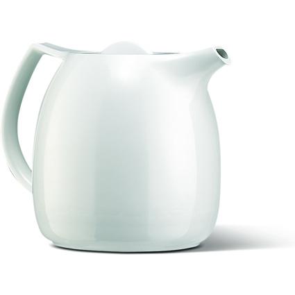 emsa Tee-Isolierkanne ELLIPSE, 0,6 Liter, weiß