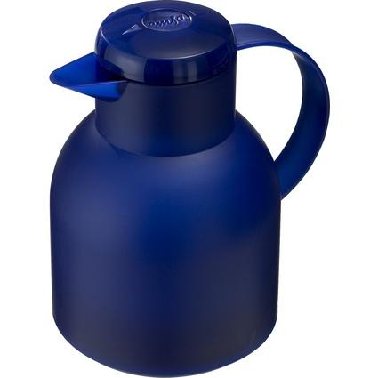 emsa Isolierkanne SAMBA, 1,0 Liter, transluzent-blau