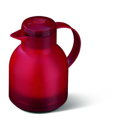 emsa Isolierkanne SAMBA, 1,0 Liter, transluzent-rot