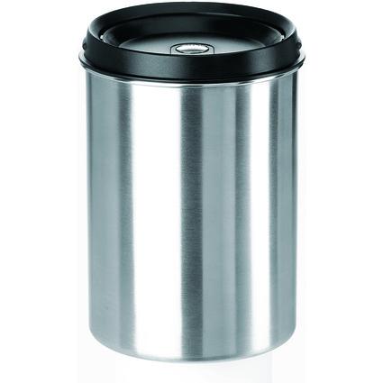 emsa Tisch-Abfallbehälter ACCENTA, Edelstahl / schwarz