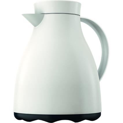 emsa Isolierkanne EASY CLEAN, 1,0 Liter, cremeweiß