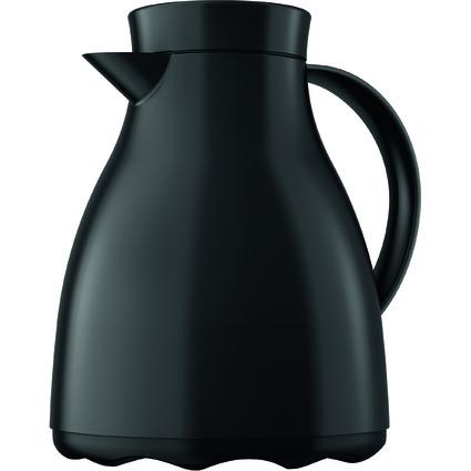 emsa Isolierkanne EASY CLEAN, 1,0 Liter, tiefschwarz