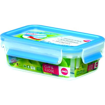 emsa Frischhaltedose CLIP & CLOSE, 0,55 Liter, transparent