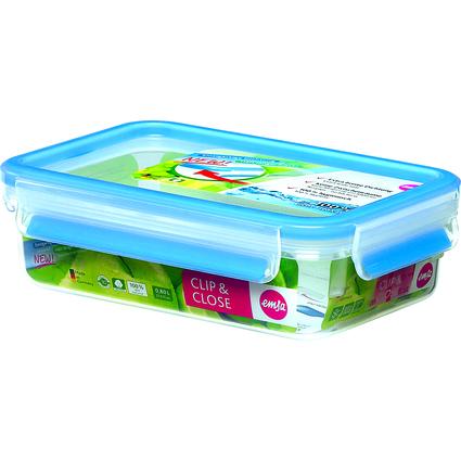 emsa Frischhaltedose CLIP & CLOSE, 0,80 Liter, transparent