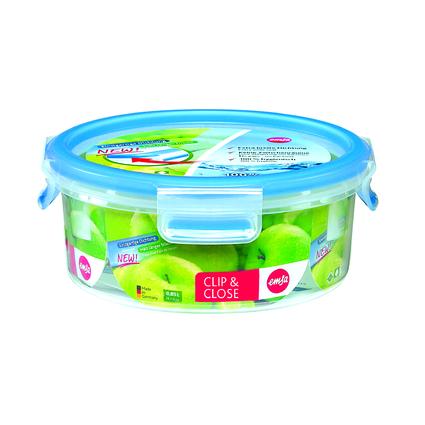 emsa Frischhaltedose CLIP & CLOSE, 0,85 Liter, transparent