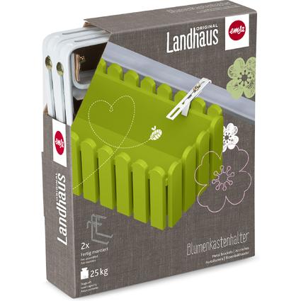 emsa Blumenkasten LANDHAUS, (B)750 mm, grün