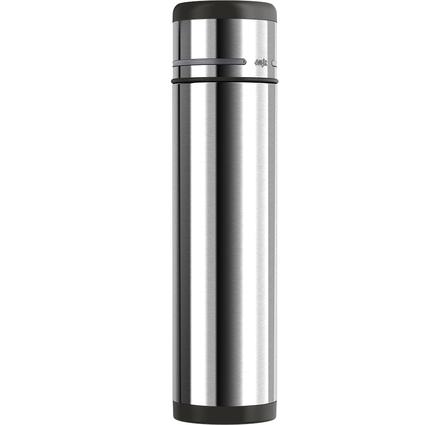 emsa Isolierflasche MOBILITY, 1,0 Liter, schwarz-anthrazit
