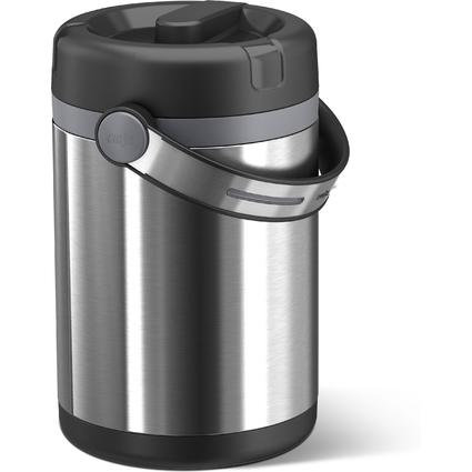 emsa Isolier-Speisegefäß MOBILITY, 1,7 Liter, schwarz/
