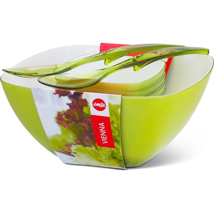 "emsa Salat-Set ""VIENNA"", 6-teilig, Kunststoff, hellgrün"