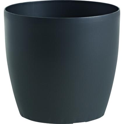 emsa Blumenkübel CASA, rund, Durchmesser: 430 mm, granit