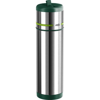 emsa Isolier-Trinkflasche MOBILITY, 0,50 Liter, grün