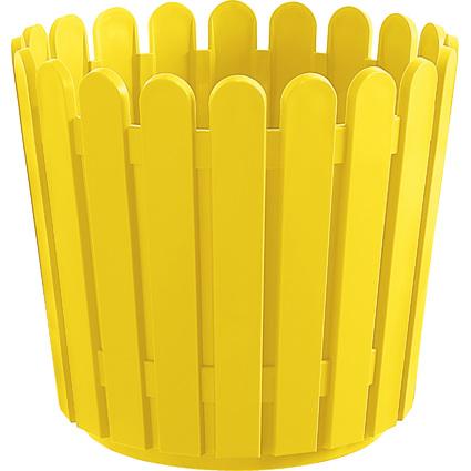 emsa Blumenkübel LANDHAUS, rund, Durchm.: 300 mm, gelb