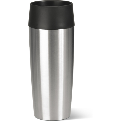 emsa Isolierbecher TRAVEL MUG, 0,36 Liter, Edelstahl
