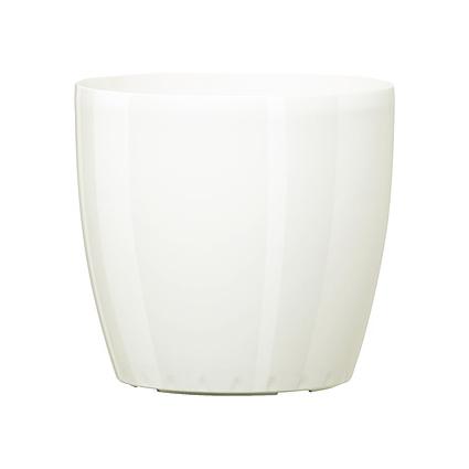 emsa Blumenkübel CASA BRILLIANT, Durchmesser: 430 mm, weiß