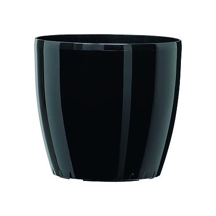 emsa Blumenkübel CASA BRILLIANT, Durchm.: 430 mm, schwarz