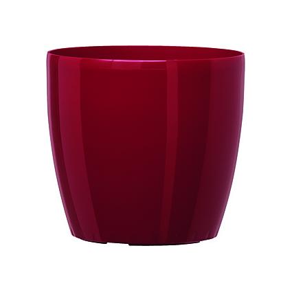 emsa Blumenkübel CASA BRILLIANT, Durchmesser: 430 mm, rot