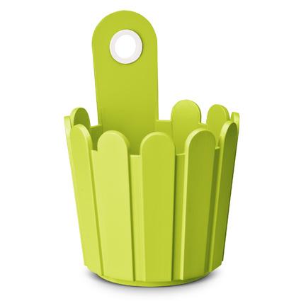 emsa Blumenkübel LANDHAUS Fässchen, rund, grün