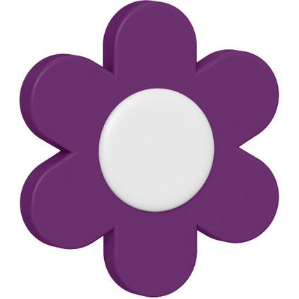 emsa Deko-Clip LANDHAUS Blümchen, violett