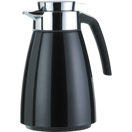 emsa Isolierkanne BELL, 1,0 Liter, schwarz metallic