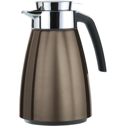 emsa Isolierkanne BELL, 1,0 Liter, chocolate metallic