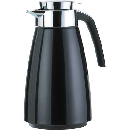 emsa Isolierkanne BELL, 1,5 Liter, schwarz metallic