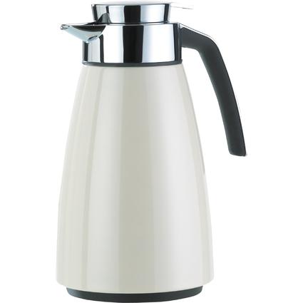 emsa Isolierkanne BELL, 1,5 Liter, cremeweiß