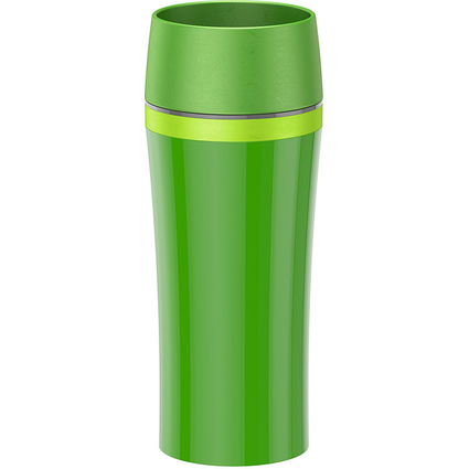 emsa Isolierbecher TRAVEL MUG FUN, 0,36 L., grün/dunkelgrün