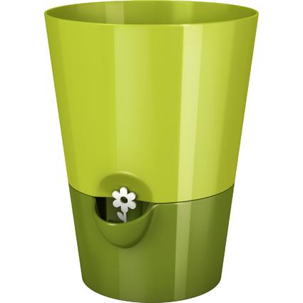 emsa FRESH HERBS Kräutertopf, grün, Durchmesser: 130 mm