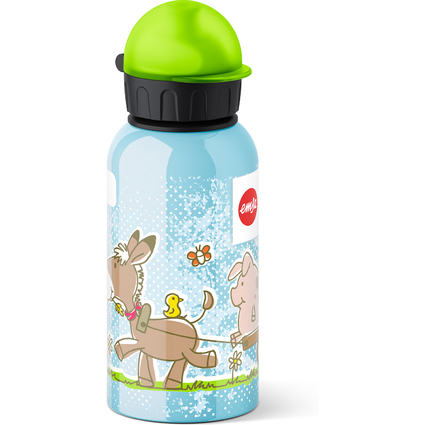 emsa Trinkflasche KIDS, Motiv: Animal Farm, 0,4 Liter