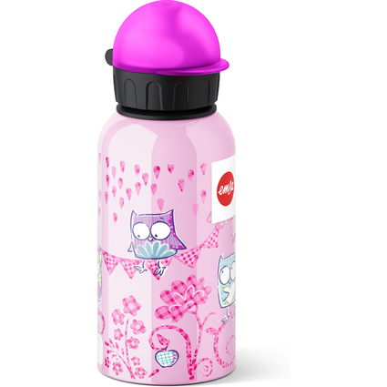 emsa Trinkflasche KIDS, Motiv: Owl, 0,4 Liter