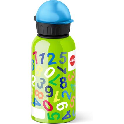 emsa Trinkflasche KIDS, Motiv: Numbers, 0,4 Liter