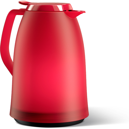 emsa Isolierkanne MAMBO, 1,0 Liter, pink-rot-transluzent