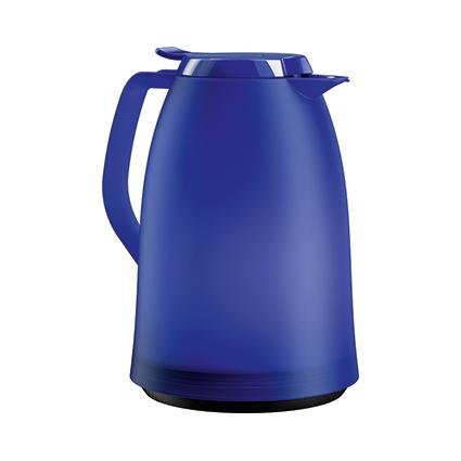 emsa Isolierkanne MAMBO, 1,0 Liter, blau-transluzent