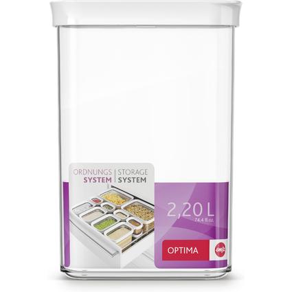 emsa Schüttdose / Trockenvorratsdose OPTIMA, 2,2 Liter