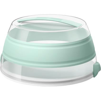 emsa Falt-Partybutler myBAKERY, pastellgrün-transparent