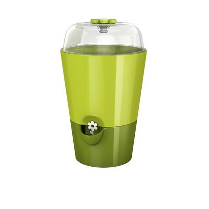 emsa FRESH HERBS Kräutertopf mit Pflanzglocke, grün