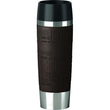 emsa Isolierbecher TRAVEL MUG Grande, 0,50 Liter, braun