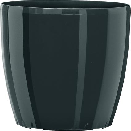 emsa Blumenkübel CASA BRILLIANT, Durchm.: 220 mm, granit