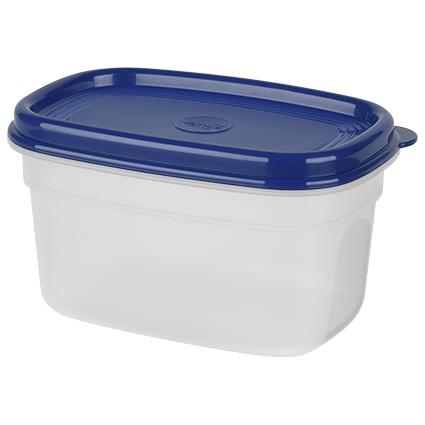 emsa Frischhaltedose SUPERLINE, 0,5 Liter, rechteckig, blau