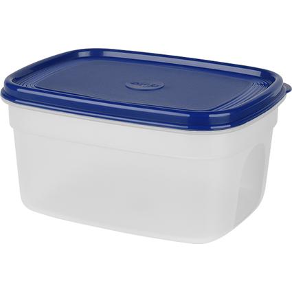 emsa Frischhaltedose SUPERLINE, 1,7 Liter, rechteckig, blau